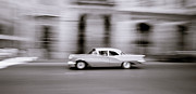 Accelerate Posters - Speeding In Havana Poster by Shaun Higson