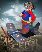 Speedolini Flying High Print by Kathy Tarochione