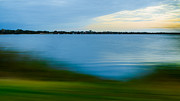 Fading Dream Photos - Speedscape of lake produces artful color effect by Elmer-Ralph Dinkelaar