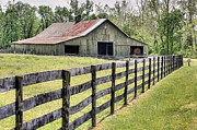 Star Barn Prints - Sperryville  Print by JC Findley