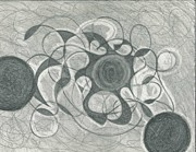 Sphere Drawings - Spheric by Luis Jara