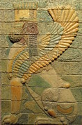 Old Reliefs - Sphinx I. by Jose Manuel Solares