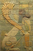 Old Reliefs - Sphinx II. by Jose Manuel Solares
