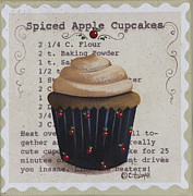 Catherine Holman - Spiced Apple Cupcake