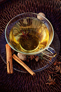 Mythja Posters - Spiced tea Poster by Mythja  Photography