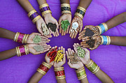 Bracelets Art - Spices of India by Tim Gainey