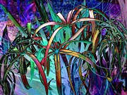 Spider Digital Art - Spider lilly by Athala Carole Bruckner