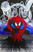 Justin Moore - Spider-Man Watercolor