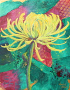 Nancy Jolley Art - Spider Mum by Nancy Jolley