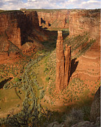 Spider Rock Framed Prints - Spider Rock Framed Print by Allen W Sanders