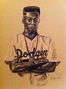 African American Artist Drawings Posters - Spike Lee Poster by Larry Silver