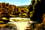 Colorado Greeting Cards Prints - Spillway Print by Jon Burch Photography