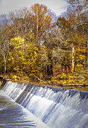 Spillways Prints - Spillway Print by Leroy McLaughlin