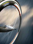Cycling Metal Prints - Spin Metal Print by Jeff Klingler