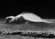 Tides Photo Prints - Spindrift Print by Mike  Dawson