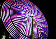Fort Worth Texas Photos - Spinning Disk by Joan Carroll