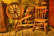 Spinning Wheel Prints - Spinning Wheel Print by Adam Jewell