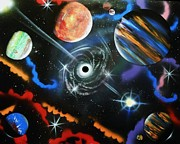 Outer Space Originals - Spiral Galaxy by Amy LeVine