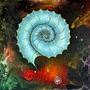 Fantasy Paintings - Spiral  by Sarah Stone