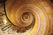 Spiral Staircase Prints - Spiral Staircase Print by Chevy Fleet