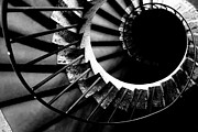Spiral Photo Framed Prints - Spiral staircase Framed Print by Fabrizio Troiani
