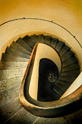 Cloistered Prints - Spiral Staircase Print by Jill Battaglia