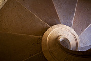 Spiral Staircase Photos - Spiral staircase  by Lusoimages