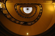 Spiral Staircase Prints - Spiral Staircase of the Courtauld Gallery Print by Nigel Ip