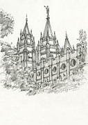 Reverence Framed Prints - Spires3 Framed Print by Michael Shegrud