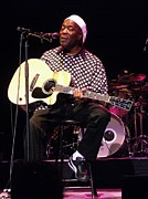 Guitar Photo Originals - Spirit Buddy Guy by Iconic Images Art Gallery David Pucciarelli
