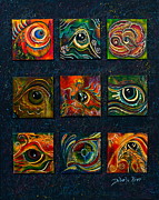 Healing Art Paintings - Spirit Eye Collection I by Deborha Kerr
