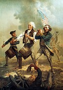 American Revolution Painting Framed Prints - Spirit of 76 Framed Print by Pg Reproductions