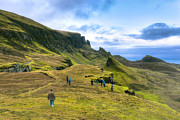 Winter Travel Photo Posters - Spirit Of Adventure on Skye - Scottish Landscape Poster by Mark E Tisdale