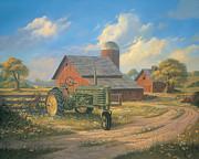 John Deere Posters - Spirit of America Poster by Michael Humphries