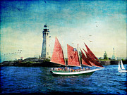 Wooden Ship Prints - Spirit of Buffalo Print by Lianne Schneider