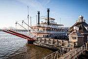 Riverboat Prints - Spirit of Peoria Riverboat in Peoria Illinois Print by Paul Velgos
