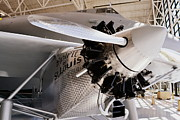 Plane Engine Photos - Spirit of St. Louis by Michelle Calkins