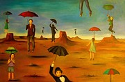 Leah Saulnier The Painting Maniac - Spirit Of The Flying Umbrellas edit 1