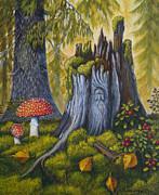 Spirit Of The Forest Print by Veikko Suikkanen