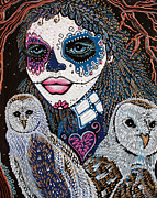 Beliefs Art - Spirit Of The Owl by Laura Barbosa