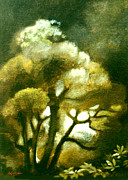 Aotearoa Paintings - Spirit of the Tarairi Tree by Patricia Howitt