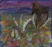 Plants. Tapestries - Textiles Prints - Spirit on the Tundra Print by Carolyn Doe