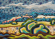 Abstracted Landscape Prints - Spirit star dream Print by Dale Beckman