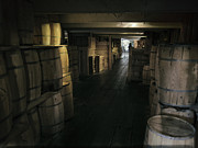 Storage Prints - Spirits Storage Below Decks Print by Daniel Hagerman