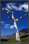 Prayer Digital Art Originals - Spiritual Flags by Vaibhav Jaguste
