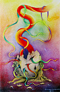 Nature Medicine Paintings - Spirituality No.1 by S Prapanthawee