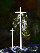 Crosses Digital Art - Spirituality by Paul St George