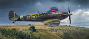 Spitfire Prints - Spitfire Print by Dale Jackson