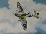 Spitfire Mk.viii Print by Murray McLeod