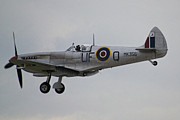 Spitfire Photos - Spitfire of the Battle of Britain Memorial Flight  by Corinne Mills